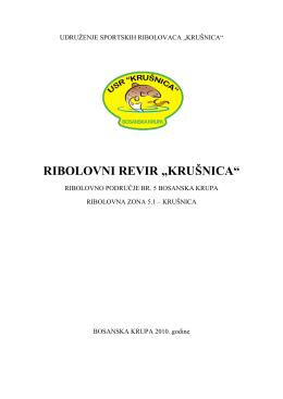 Poslovnik o radu revira Krušnica