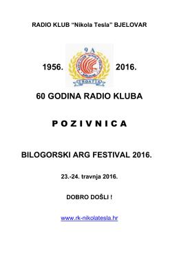 "Pozivnica_ARG_Bilogora_2016 - Radio klub ""Nikola Tesla"" Bjelovar"