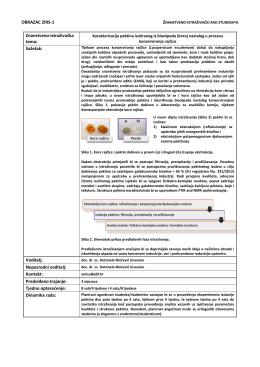 Karakterizacija pektina izoliranog iz biootpada (kora)