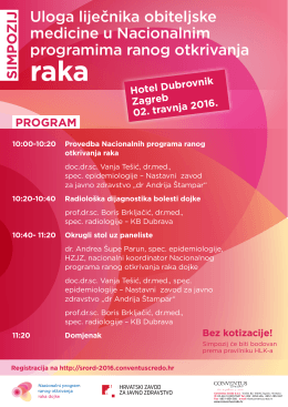 Program - Zagreb