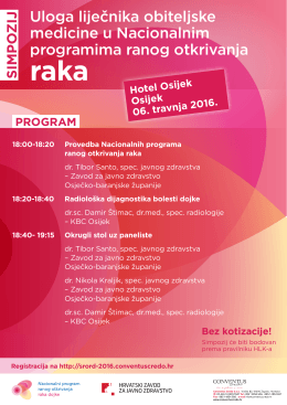 Program - Osijek