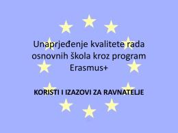 Primjer dobre prakse OŠ Manuš, Split