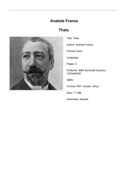 Anatole France Thais - Burns Insurance Group | Springfield, TN