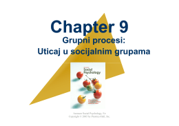 5Chapter 9 Grupni procesi