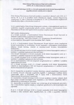 Doba Község Önkormányzat Képviselő