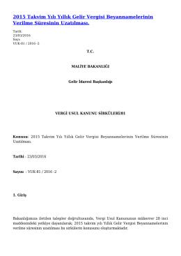 PDF Biçiminde İndir - Gelir İdaresi Başkanlığı