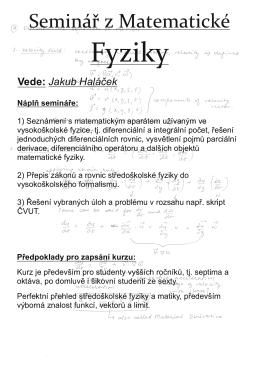 Vede: Jakub Haláček