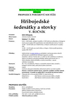 propozice - Sdružení hasičů Čech, Moravy a Slezska