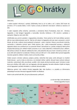 PDF zpráva