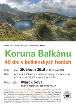 40 dní v balkánských horách