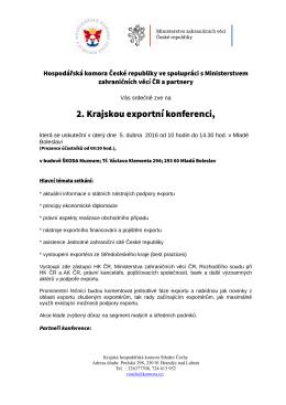 Pozvánka exportní konference_Mladá Boleslav_KHK StČ