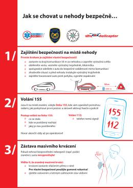 Jak se chovat u nehody bezpečně… 1