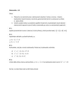 Matematika 4.B