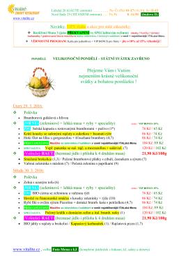 Týdenní lístek v  (Nové sady 25)