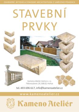 pdf verze - Kameno Ateliér Hořice sro