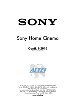 Sony Home Cinema