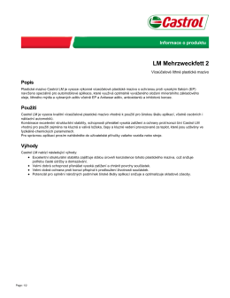 LM Mehrzweckfett 2 - Castrol