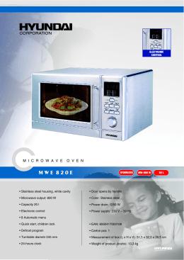 MWE 820E - Euronics