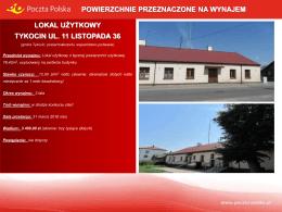 Tykocin ul. 11 Listopada 36_gmina Tykocin, powiat