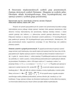 Ćwiczenie 4 - Politechnika Gdańska