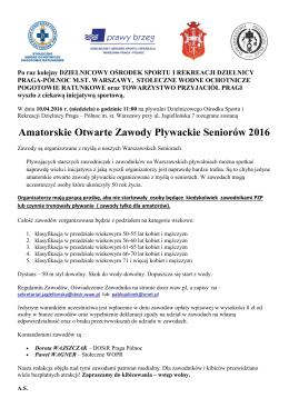 Info prasowe