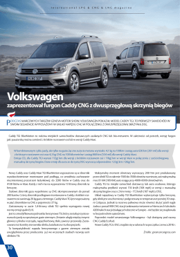 VW Caddy CNG