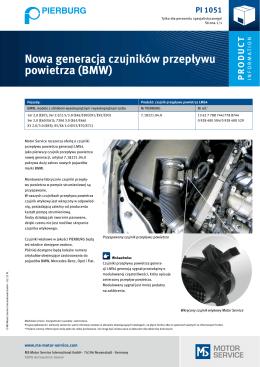 Nowa generacja czujników przepływu powietrza (BMW)
