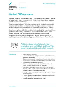 FMEA - Capability