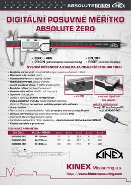Leták v PDF - KINEX Measuring