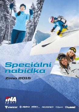 Speciální nabídka Zima 2015