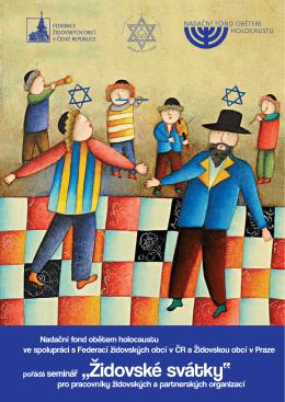 """pořádá seminář """"Židovské svátky"""""""