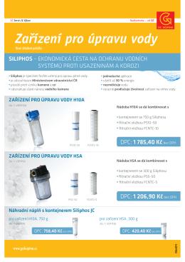 Zařízení pro úpravu vody