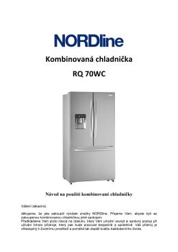 Kombinovaná chladnička RQ 70WC