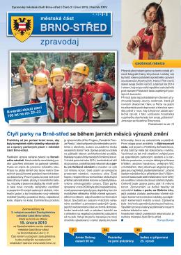 Zpravodaj MČ Brno-střed 2/2015 (únor)