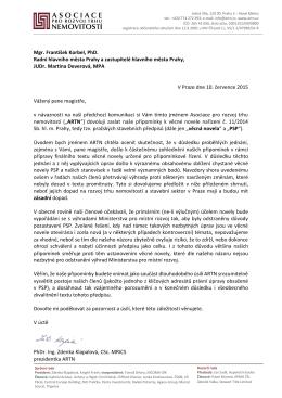 Mgr. František Korbel, PhD. Radní hlavního města Prahy a