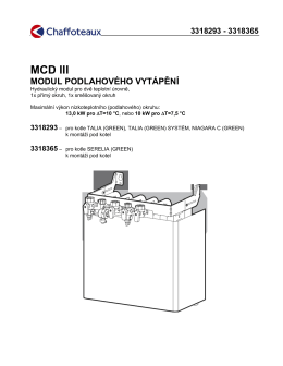 MCD III - FlowClima