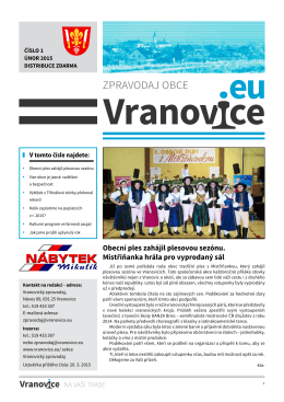 01 - Obec Vranovice