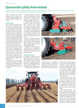 Zpracování půdy Kverneland - Zemědělský týdeník č. 44/2015