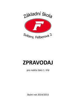 ZPRAVODAJ - ZŠ Felberova Svitavy