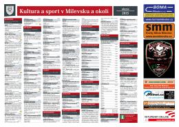 Milevský kulturní kalendář 3-2015