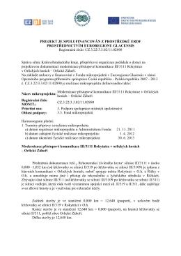 Orlické Záhoří - Správa silnic Královéhradeckého kraje