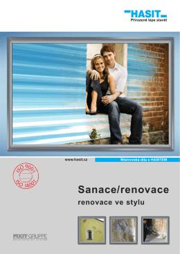 Sanace/renovace