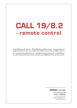 CALL 19/8.2