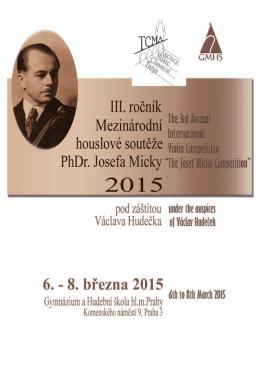 Brožura soutěže