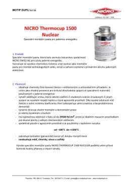 NICRO Thermocup 1500