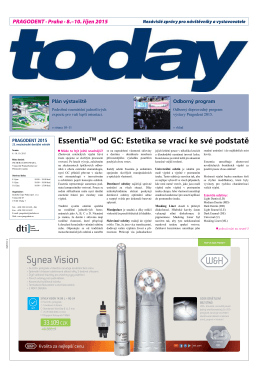 Synea Vision - Dental Tribune International