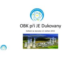 Prezentace předsedy OBK - Občanská bezpečnostní komise při