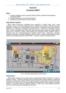 Úloha R3 Vizualizace RMVP