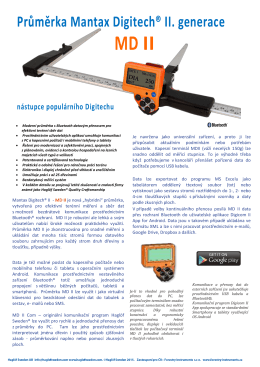 MD II. - Forestry Instruments sro