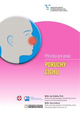 poruchy čichu - Česká společnost otorinolaryngologie a chirurgie